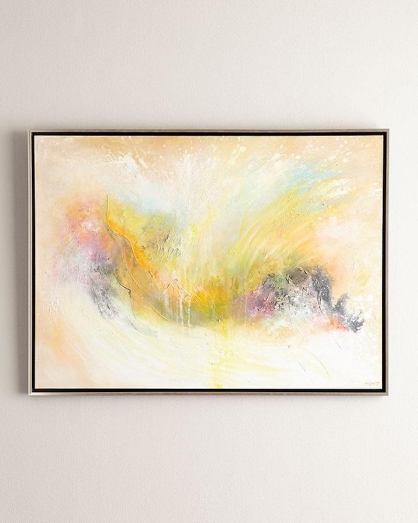 Colored Abstract Tonedo Giclee Art