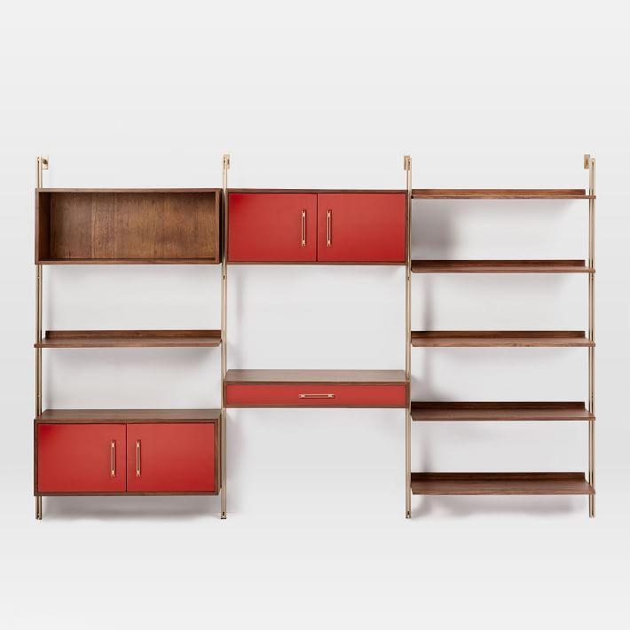 bb0b10f87f204 Linden MidCentury Wall Desk Storage Shelf