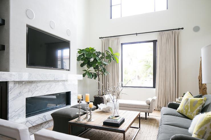 Frame Tv Above Fireplace