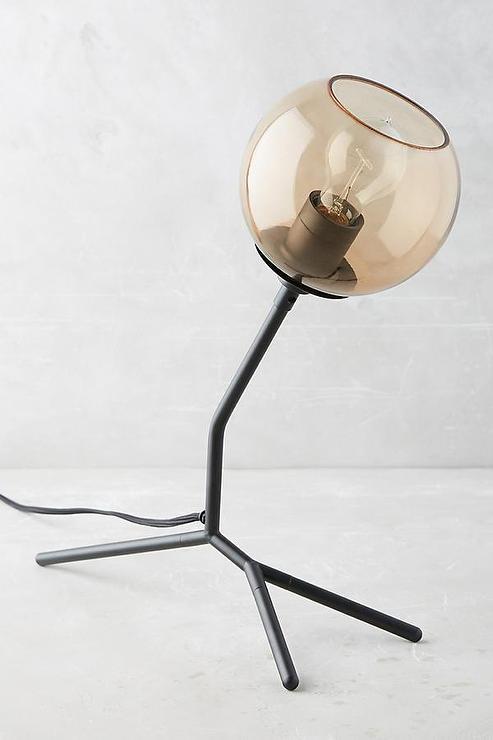 Dichotomy iron glass floor lamp mozeypictures Gallery