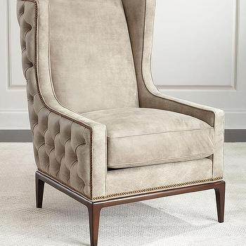 Massoud Quot Rhoda Quot Wing Chair Horchow