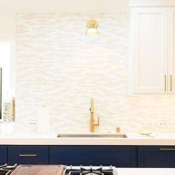 base kitchen cabinets. Blue Base Kitchen Cabinets with Brass Pulls Design Ideas