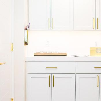 Long Gold Cabinet Pulls Design Ideas