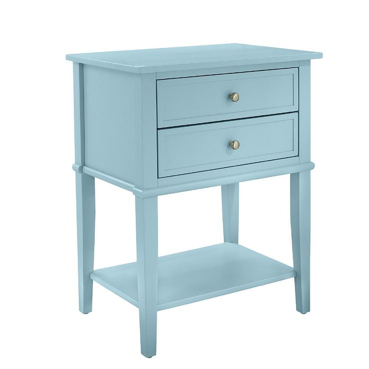 Altra Transitional Two Drawers Accent Table