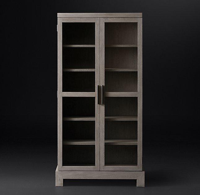 Camino Glass Double Door Cabinet