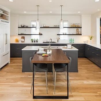 M Perpendicular Kitchen Breakfast Bar