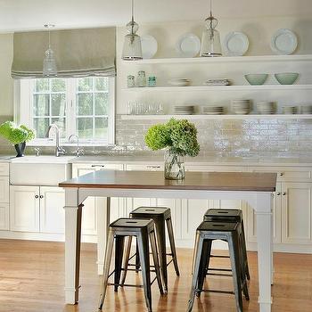 Ivory Farmhouse Kitchen With Gray Glazed Tiles Part 85