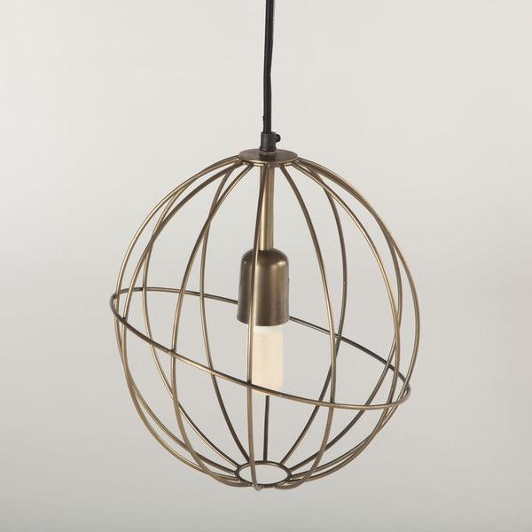 Denley 6 Light Black Pendant Chandelier
