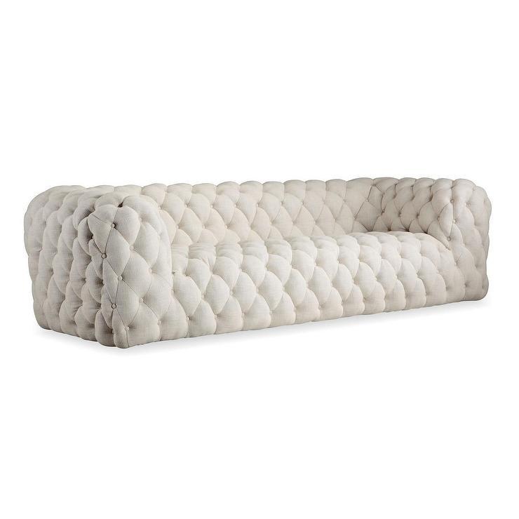 Kardiel Midcentury Modern Tufted Sofa