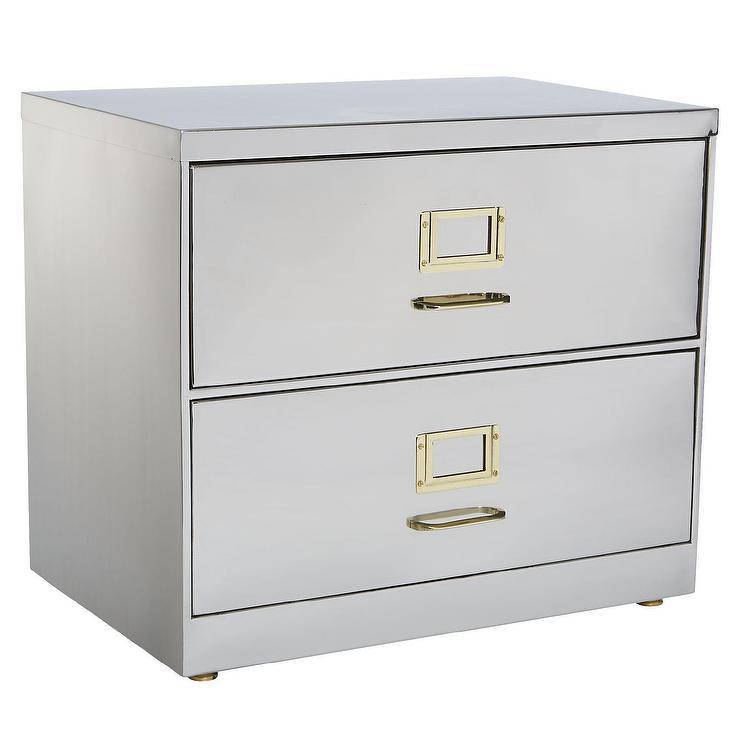 Steel Iron Handles File Cabinet