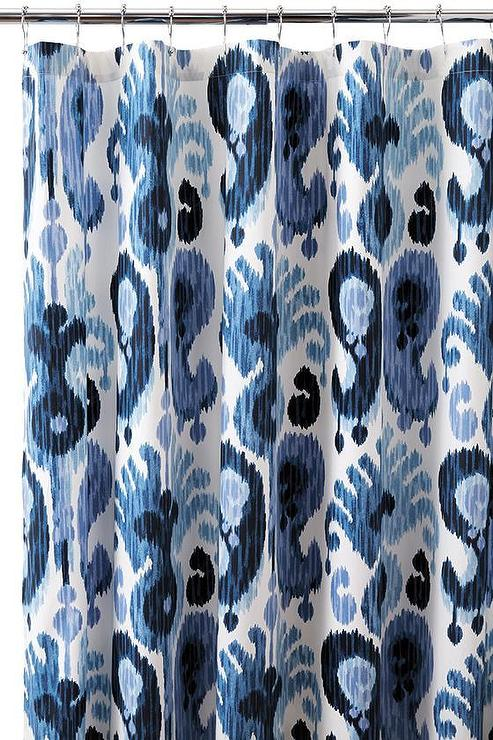 Curtains Ideas blue paisley shower curtain : Paisley Shower Curtain
