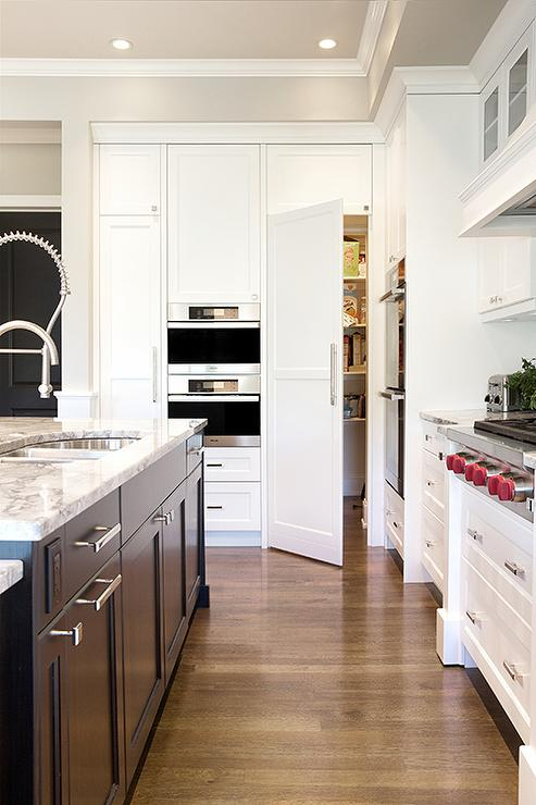 Hidden Pantry Ideas Transitional Kitchen Benjamin