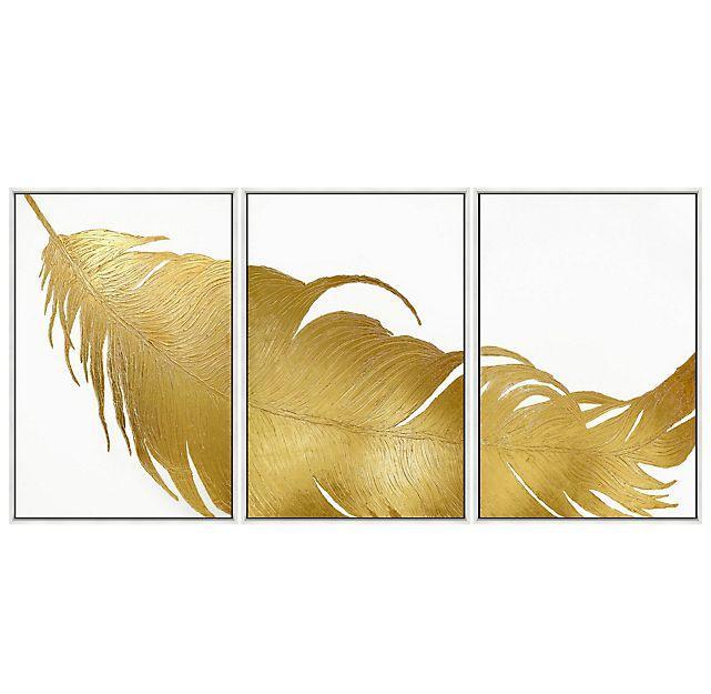 Golden Illusion III Painting