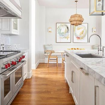 Thick Marble Island Countertops