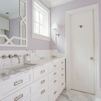 20 of the Most Fascinating Purple Bathroom Designs