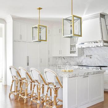 Marvelous White Kitchen Hood With Stainless Steel Trim