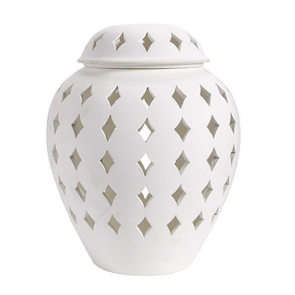 Very Santorini Diamond Cutout Lantern JI43