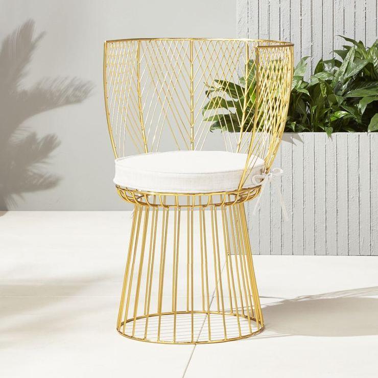 Magnificent Alexandria Curved Back Gold Chair Uwap Interior Chair Design Uwaporg