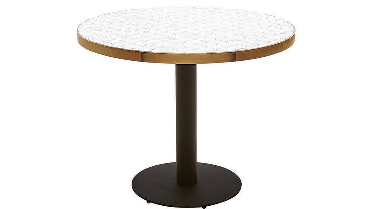 Round Marble Tiles Bistro Table. Wall Tiles On Floor. Kitchen Interior Design. Set The Stage. Oversized Nightstands. Gray And Yellow Living Room. Rustic Tall Cabinet. How To Keep Rugs From Slipping On Carpet. White Bar