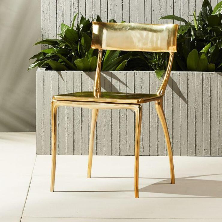 Shiny Steel Cafe Chairs Willa Arlo Interiors Espinoza