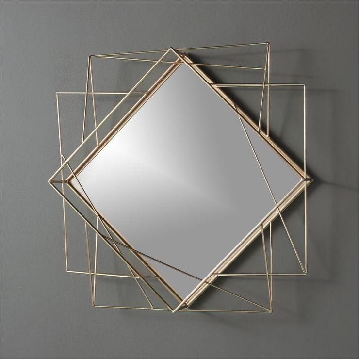 Stepped Wall Mirror