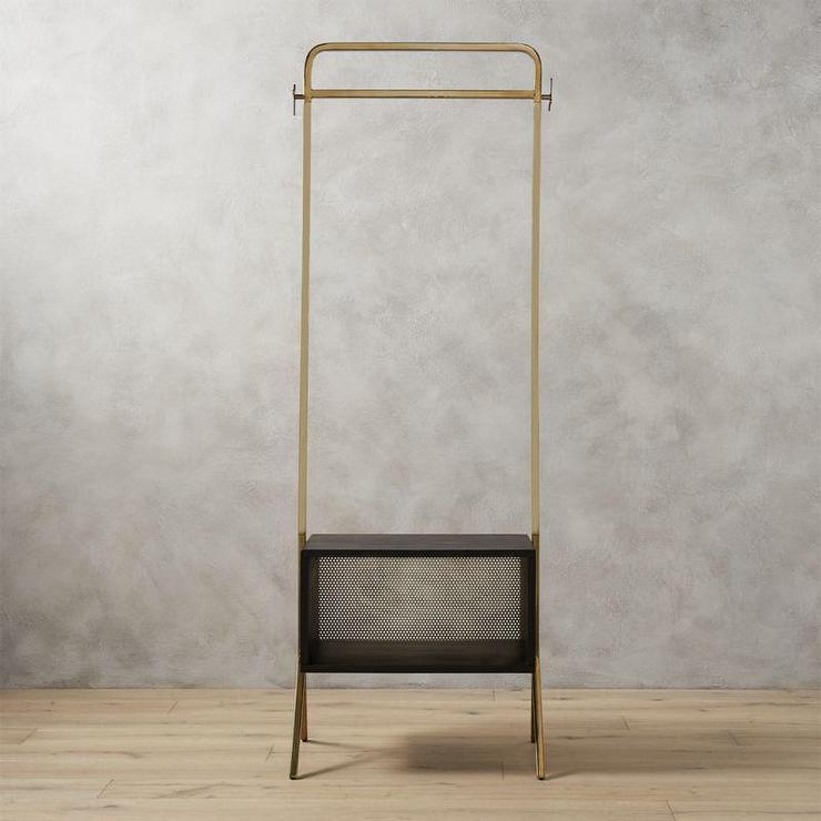 gold valet clothes stand. Black Bedroom Furniture Sets. Home Design Ideas