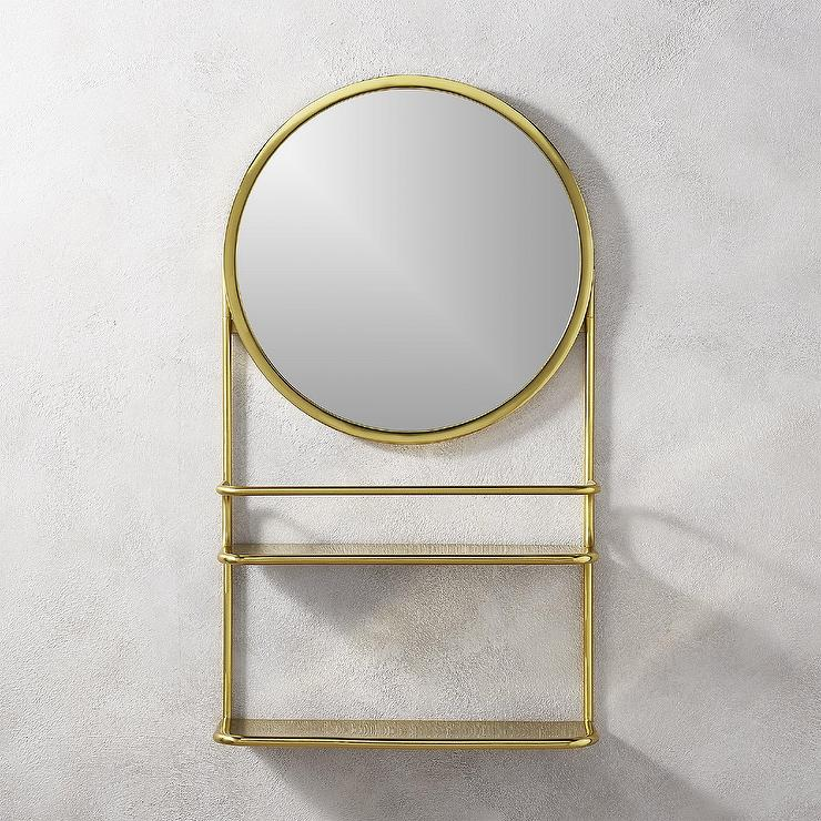 Bastille Gold Vanity Shelf