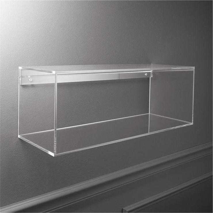 Acrylic Format Storage Shelf