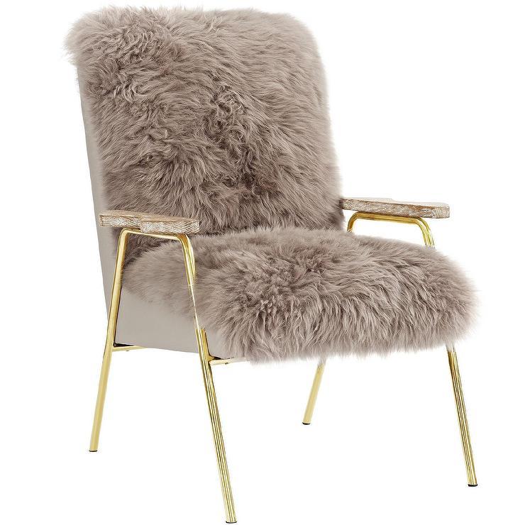 Sprint Golden Australian Wool Armchair