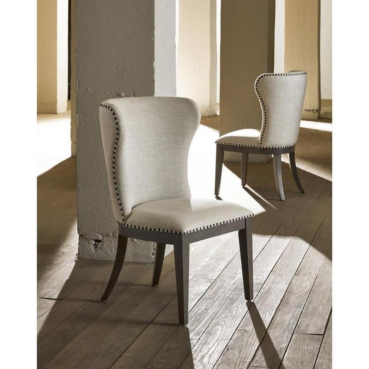 Rocco Black Cream Wood Arm Chair
