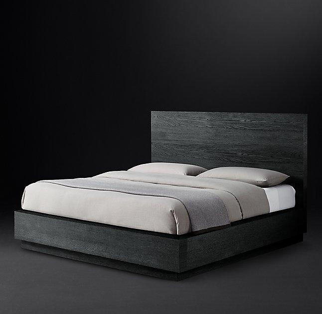 6347c6d7390a Machinto Dark Wood Platform Bed
