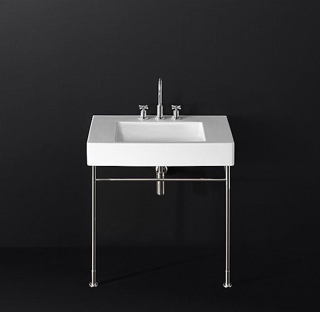 duravit vero deck mount console sink - Duravit Sink