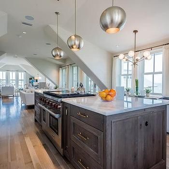 8 light brass kitchen island chandelier design ideas brown oak kitchen island with stove mozeypictures Image collections