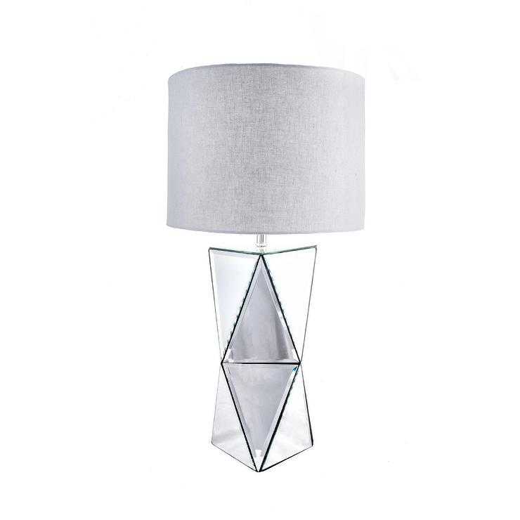 Watch hill mirrored prism table lamp aloadofball Choice Image