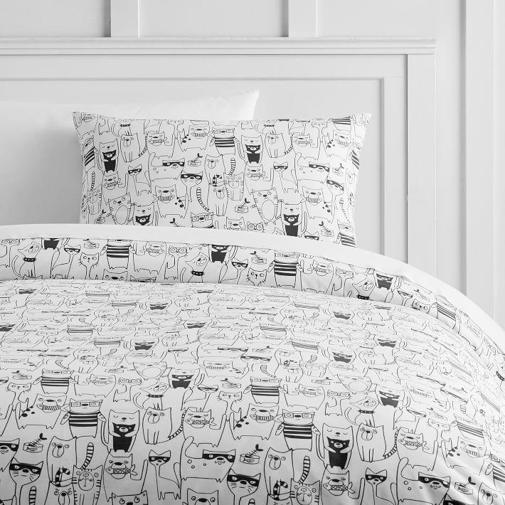 white and cover duvet organic gray black covers king
