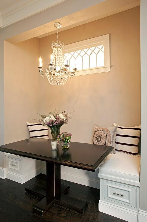 Breakfast Nook Black Dining Table