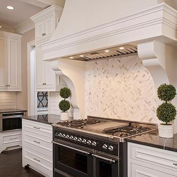 Plaster Range Hood Design Ideas