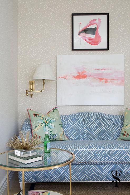 Sofa rund oval  Art Over Sofa Design Ideas