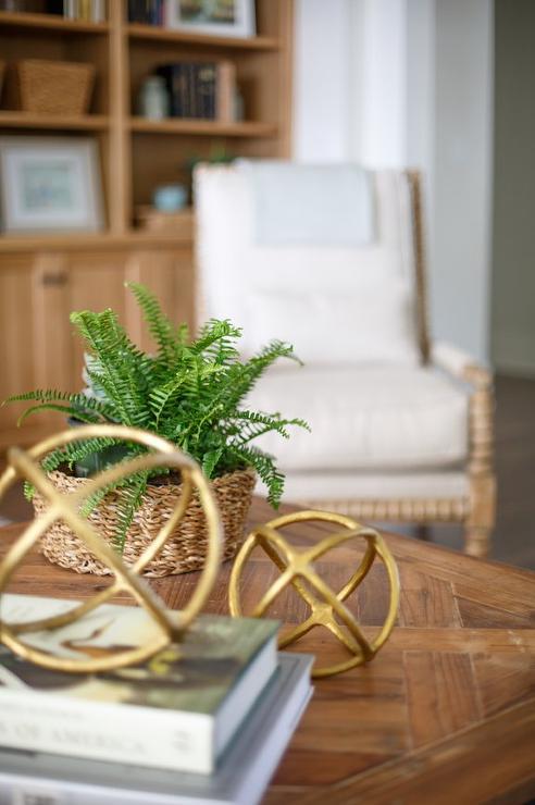 Brass Coffee Table Design Ideas
