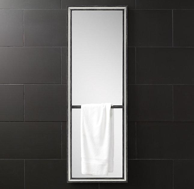 Black framed full length mirror top full size of black for Black framed floor length mirror