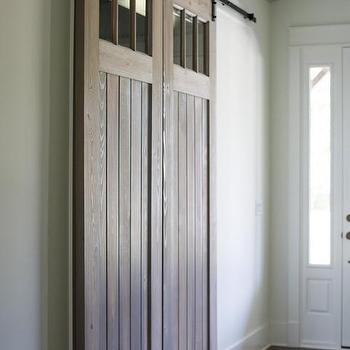 Interior Barn Doors With Transom Windows