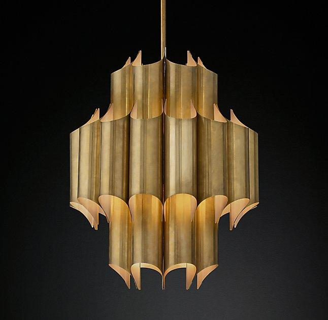 Modern Round Tiered Chandelier - Products, bookmarks, design ...