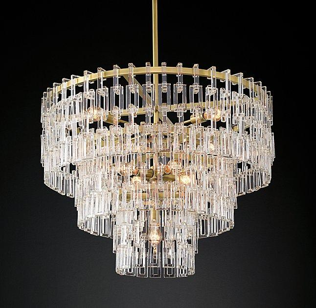 Modern Crystal Chains Chandelier - Products, bookmarks, design ...