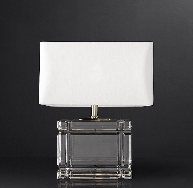 Loring Short Glass Table Lamp