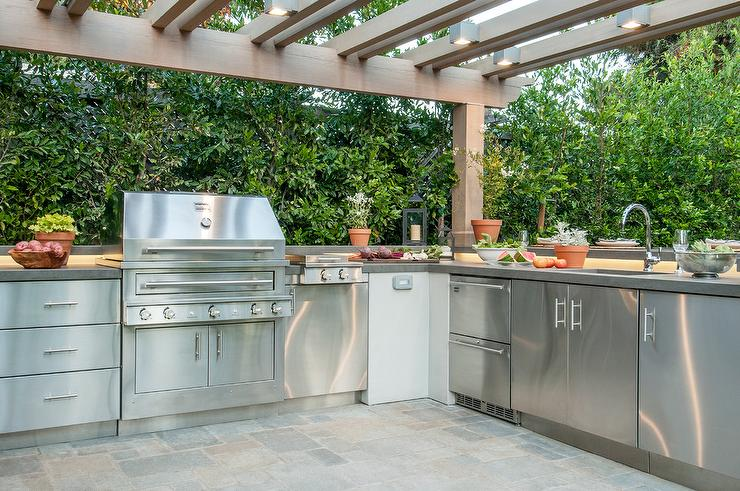 Outdoor Kitchen Sinks Outdoor kitchen sink workwithnaturefo