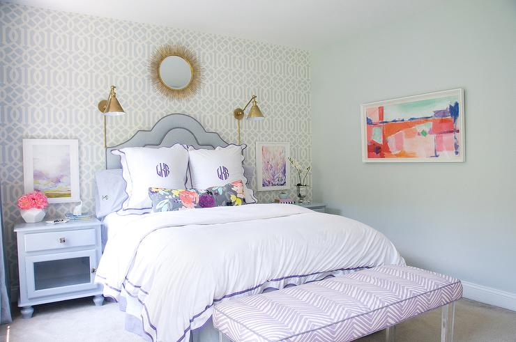 Soft Pastel Colors And A Classic Style Will Keep This Girls Room Timeless