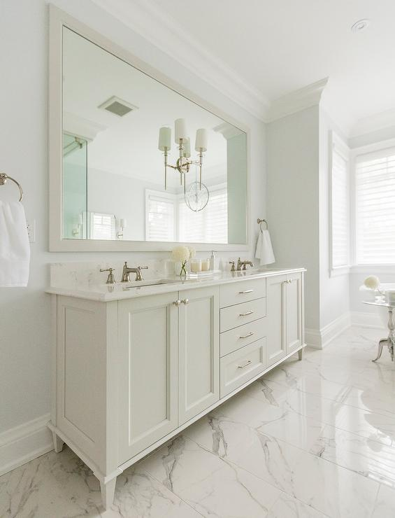 Master bathroom full wall mirror design ideas for Master bathroom mirror designs
