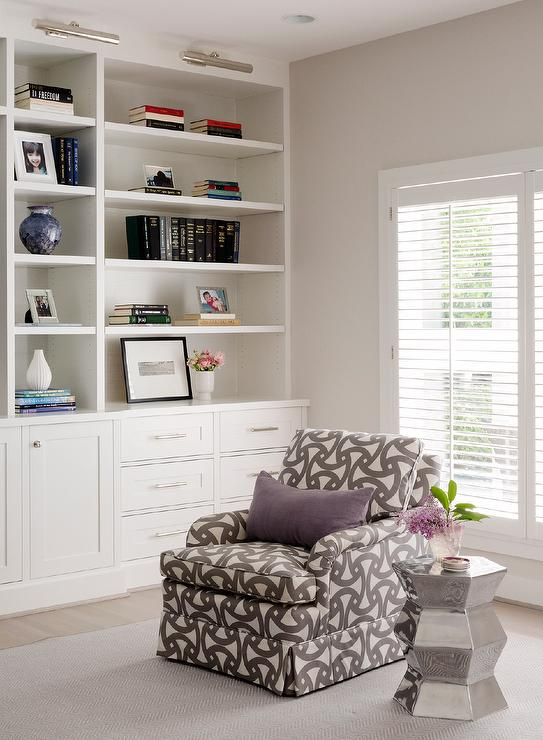 Gray And Purple Living Room Design Ideas