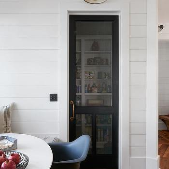 Black Screen KItchen Pantry Door