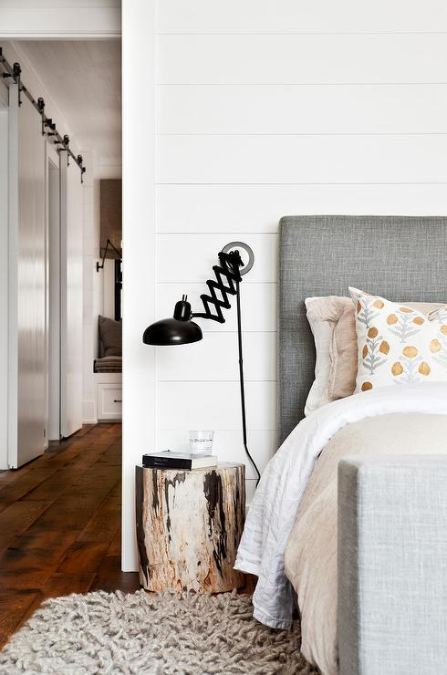 Shiplap Headboard Wall Design Ideas